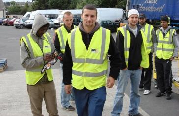 Polish workers